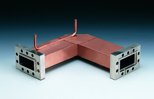 Waveguide Ag brazing of SUS and Cu