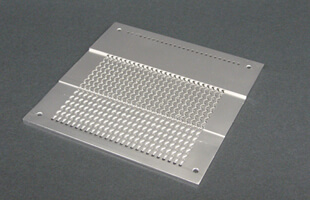 Diffusion bonded heat exchanger plate Ni alloy