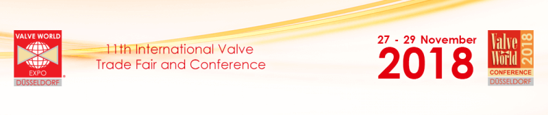 Exhibiting at Valve world 2018